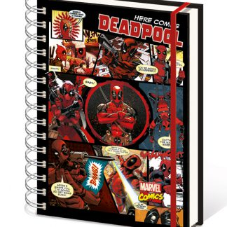 notebook Deadpool