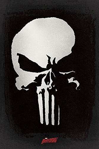 Daredevil Punisher skull