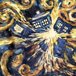 Doctor Who exploding-tardis