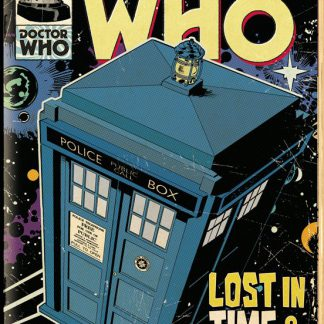Doctor Who Tardis Comic