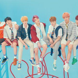 BTS group-blue