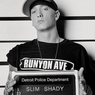 Eminem Mugshot