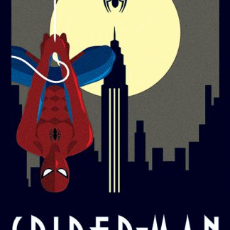 Marvel Deco - Spider-Man Hanging)