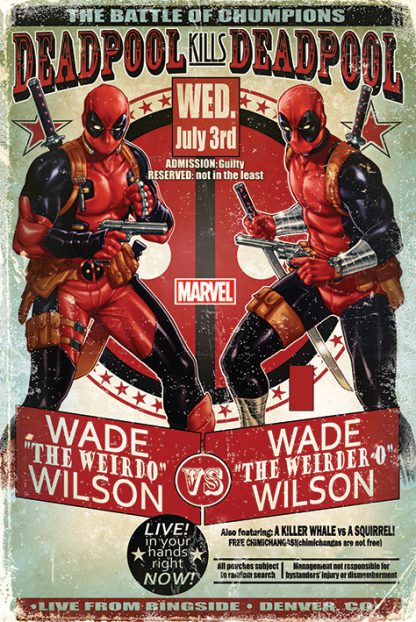 Deadpool Wade vs Wade
