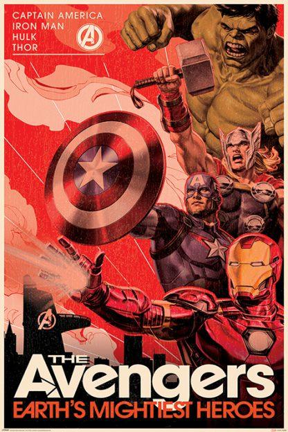 Avengers Golden Age Hero Propaganda