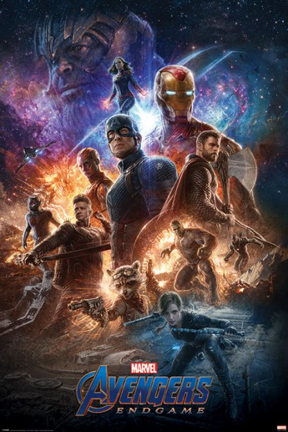 Avengers: Endgame From The Ashes