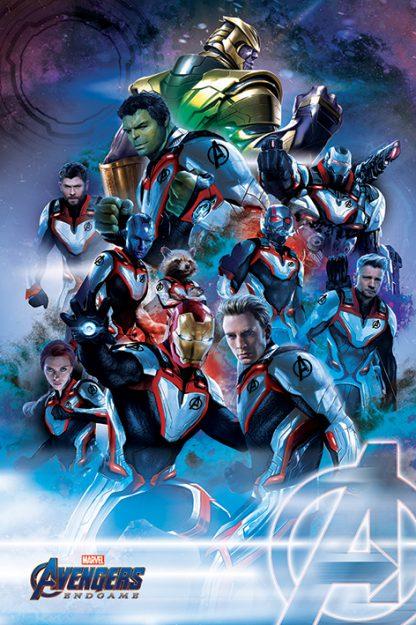 Avengers Endgame: Quantum Realm Suits