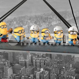 Despicable Me Minions Lunch on a Skyscraper