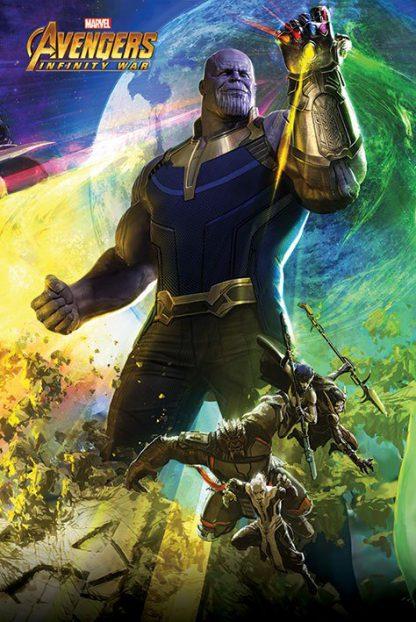 Marvel Avenger Infinity War Thanos