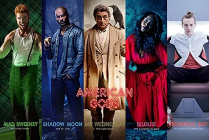 American Gods: Collage